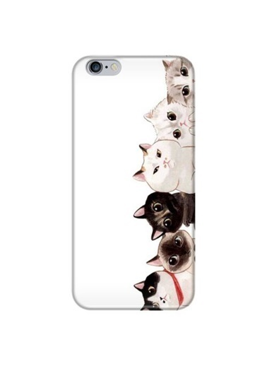 People's Cover iPhone 6/6S Plus Baskılı Telefon Kılıfı Renkli